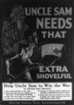Uncle Sam Needs That Extra Shovelful