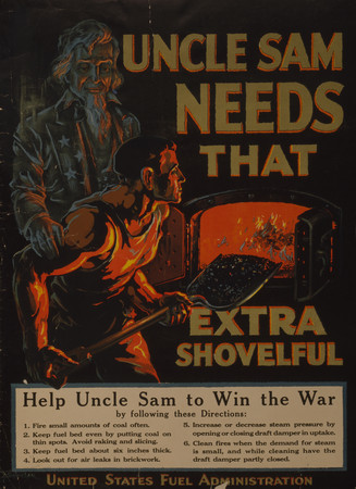 Free Photo: Uncle Sam Needs That Extra Shovelful