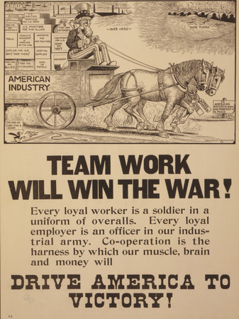 Free Photo: Team Work Will Win the War!