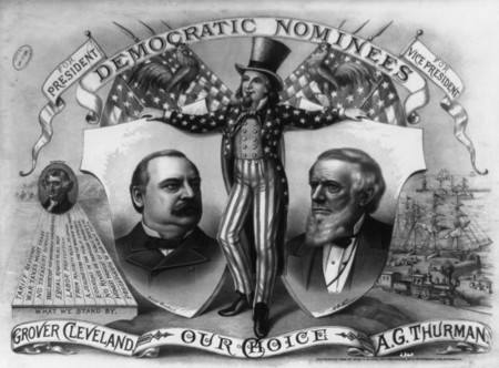 Free Photo: Uncle Sam, Grover Cleveland and A.G. Thurman