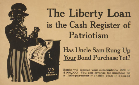 Free Photo: The Liberty Loan is the Cash Register of Patriotism
