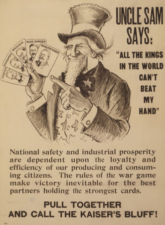 Free Photo: Uncle Sam says: All the Kings in the World Can